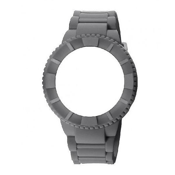 Carcasa reloj hombre caucho - gris