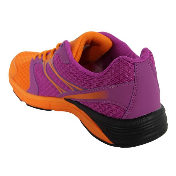 Sneaker Running con cordones mujer - naranja/lila