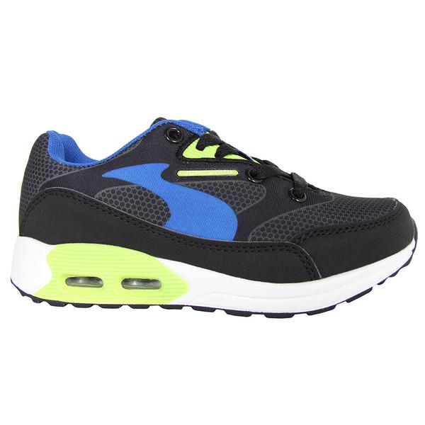 Sneaker infantil/junior - negro/verde