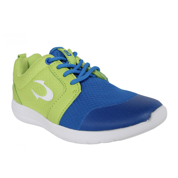 Deportivas con cordones - verde/azul