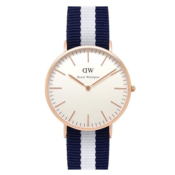 Reloj analógico hombre - marino/blanco