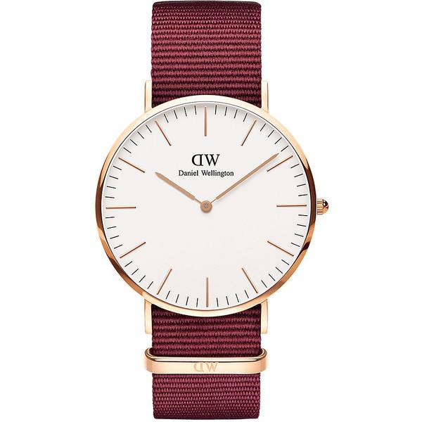 Reloj analógico mujer - granate