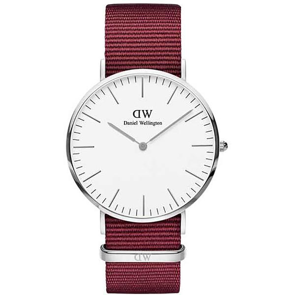 Reloj analógico mujer - rojo