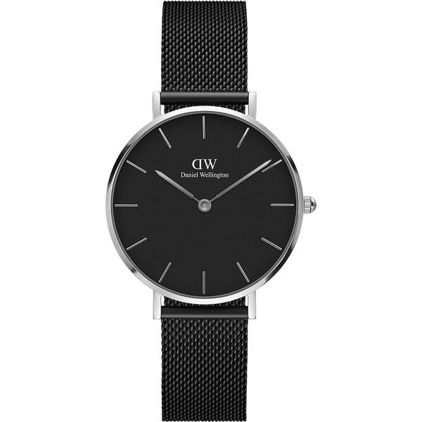 Reloj analógico mujer acero - negro