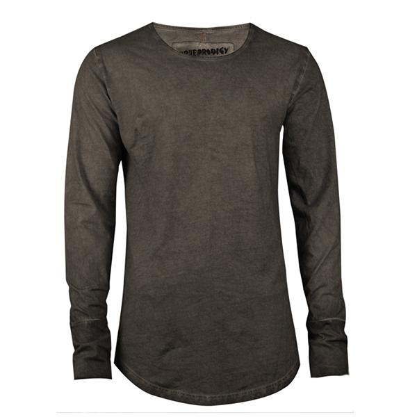 Camiseta m/larga hombre - antracita