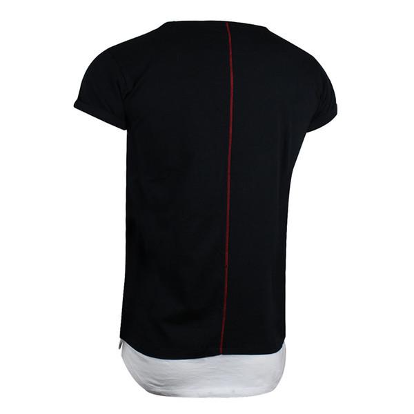 Camiseta m/corta lisa - negro