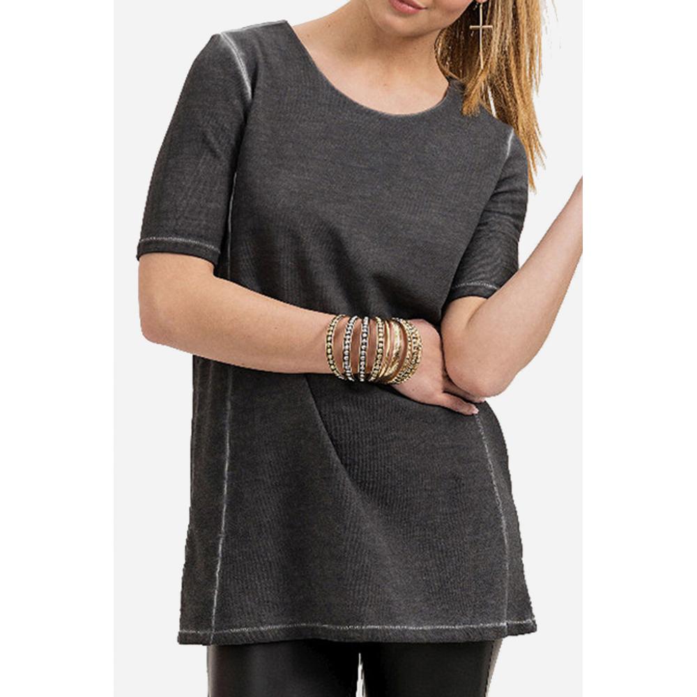 Camiseta mujer - antracita