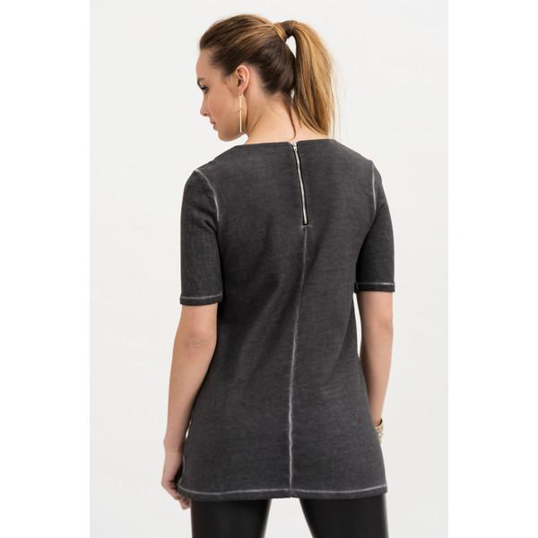 Camiseta m/corta Ella - antracita