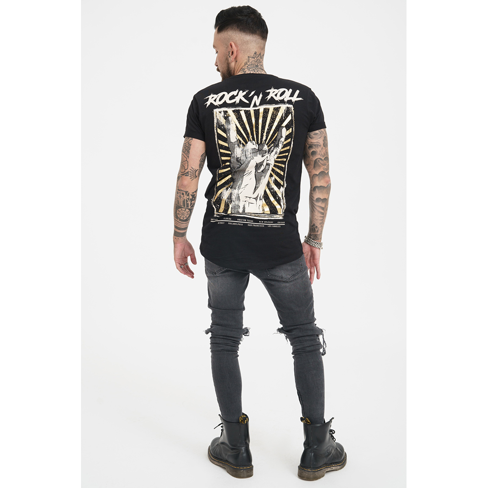 Camiseta hombre - negro