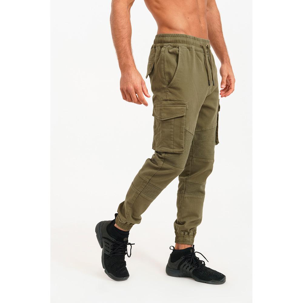 Pantalón jogger hombre - caqui