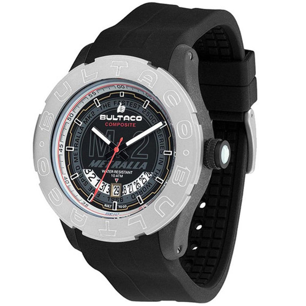 Reloj analógico hombre - negro/antracita