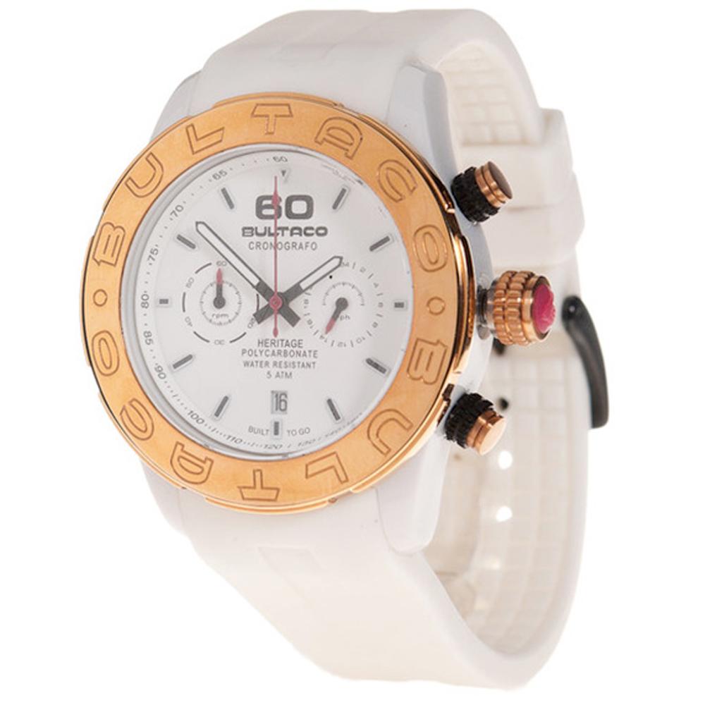 Reloj cronógrafo mujer - blanco