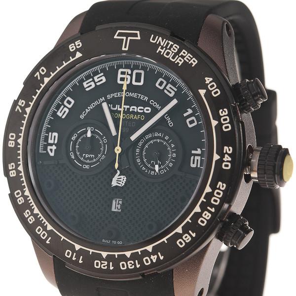 13d3a51ea3ce Reloj hombre cronógrafo acero caucho - negro BULTACO H1SC48C-SB1
