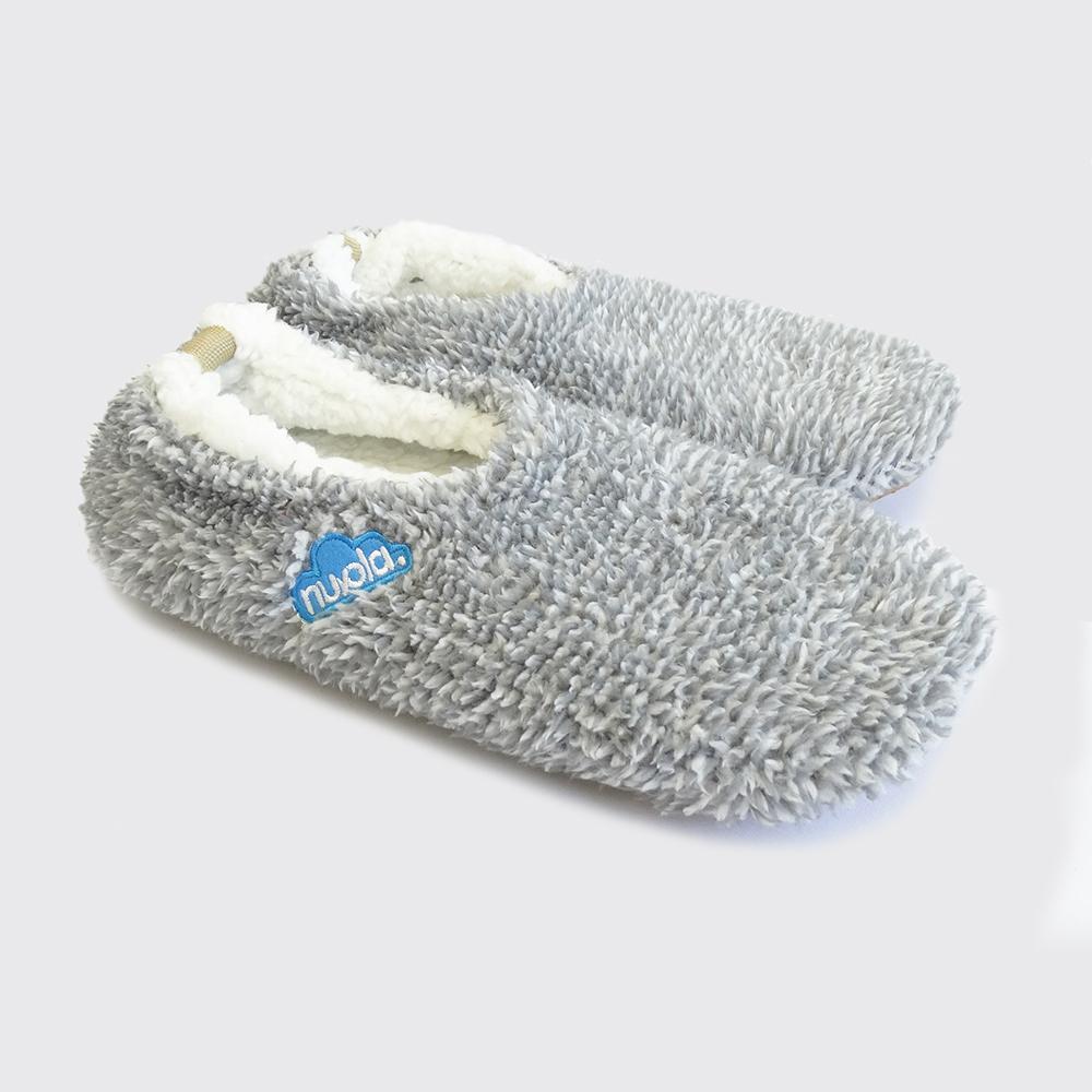 Zapatilla Polar suela de goma - gris