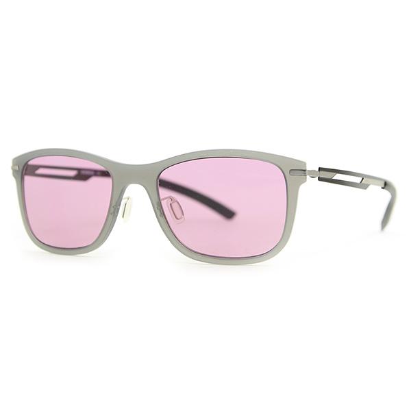 Gafas de sol unisex cal.54 acetato - gris