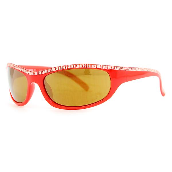 Gafas de sol unisex cal.62 acetato - rojo