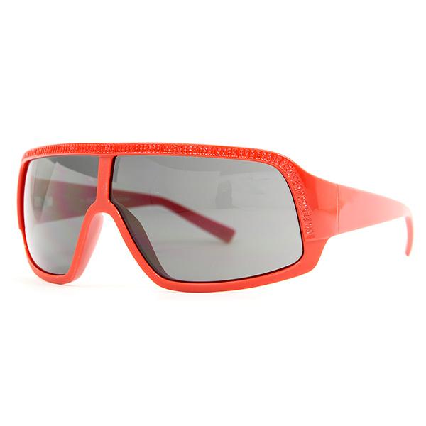 Gafas de sol unisex cal.73 acetato - rojo