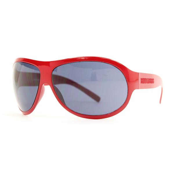 Gafas de sol unisex cal.68 acetato - rojo