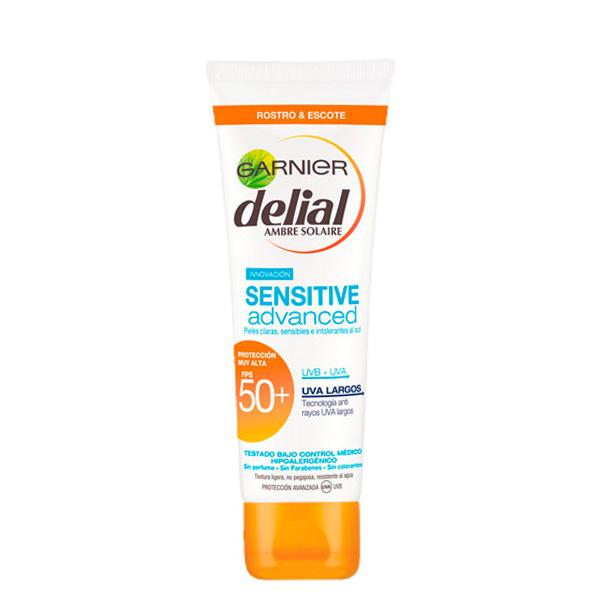 Crema facial sensitive SPF 50+