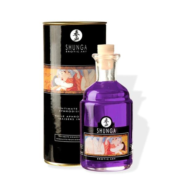 100ml Aceite afrodisiaco Besos Íntimos orgía de uvas