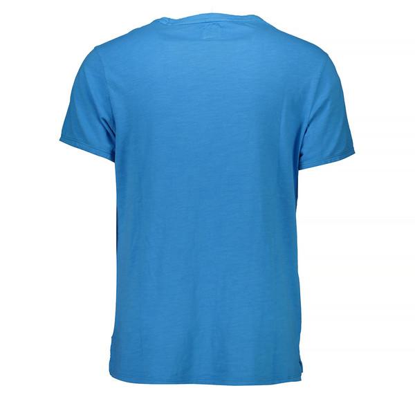 Camisetas m/corta hombre - azul