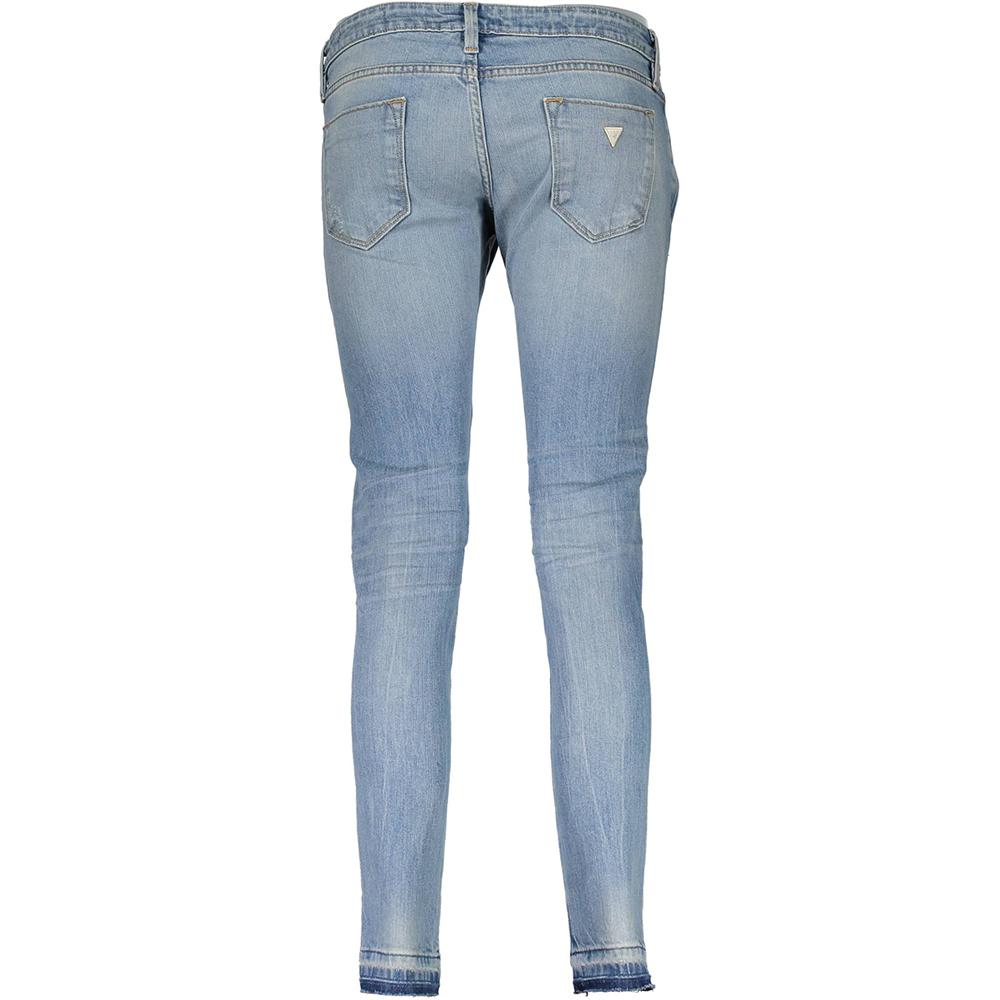 Pantalón tejano mujer - azul