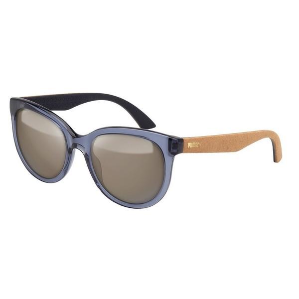 Gafas de sol mujer - azul transparente