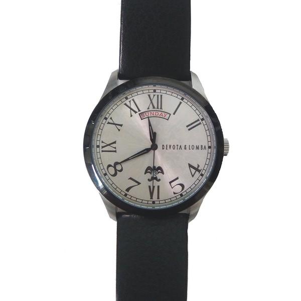 Reloj mujer analógico cuero - negro
