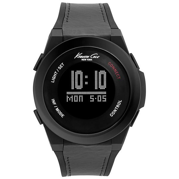 comprar popular ff616 e3937 Reloj digital hombre piel - negro