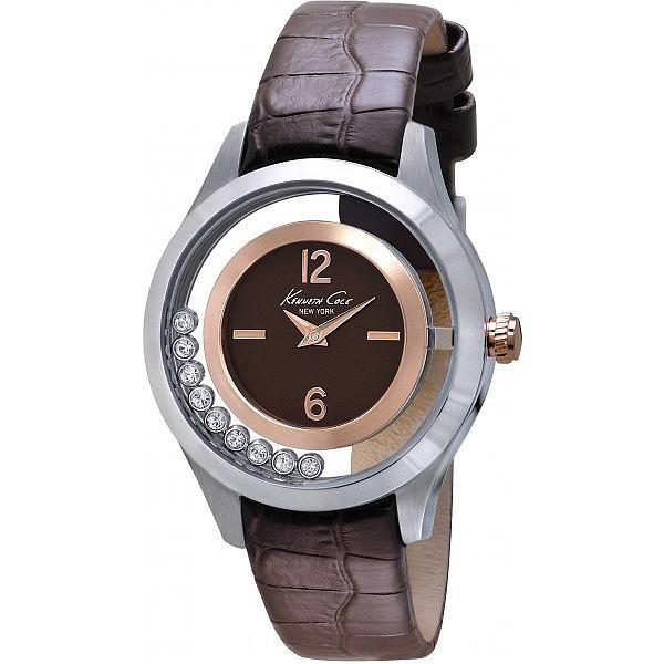 Reloj piel mujer - marrón