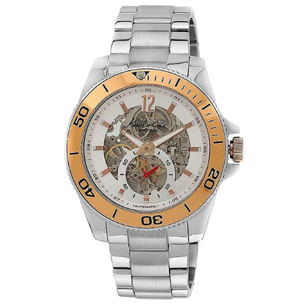 Reloj hombre analógico - plateado