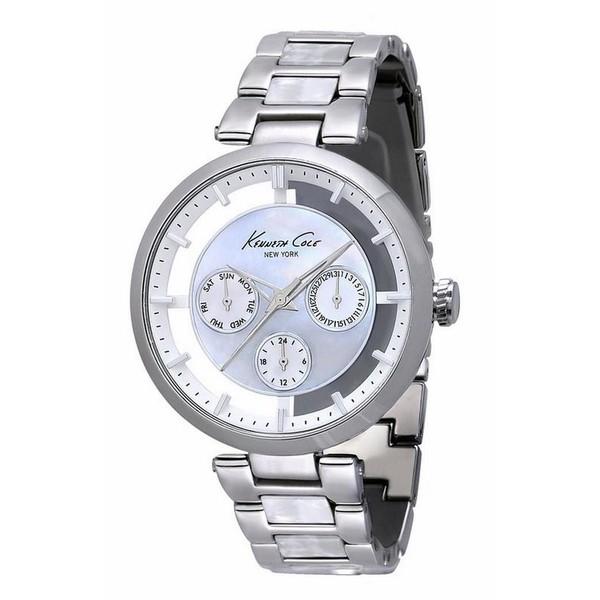 Reloj analógico acero mujer - gris