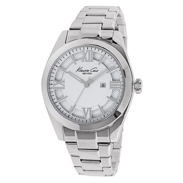 Reloj analógico acero mujer - blanco