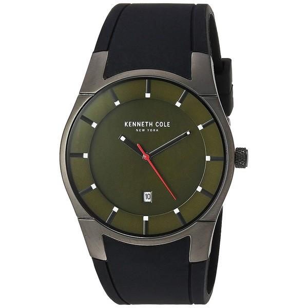 Reloj analogico caucho hombre - negro