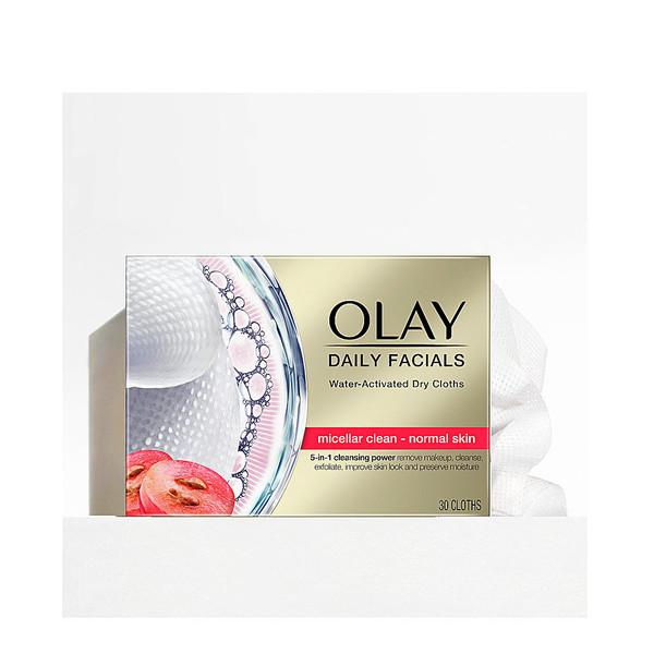CLEANSE daily facials micellar toallitas secas PN 30 uds