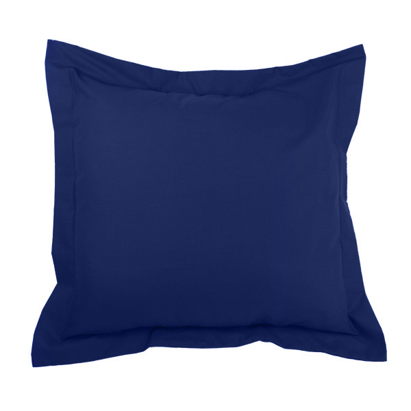 40x40cm Funda cojín Combi Lisos - azulón