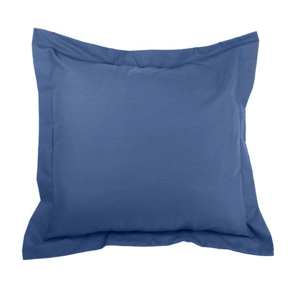 40x40cm Funda cojín Combi Lisos - azul claro