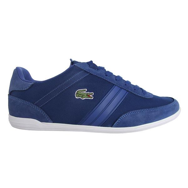 Sneaker piel hombre - azul