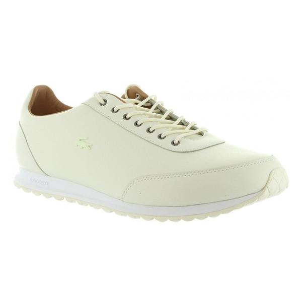 Sneaker mujer piel - blanco roto