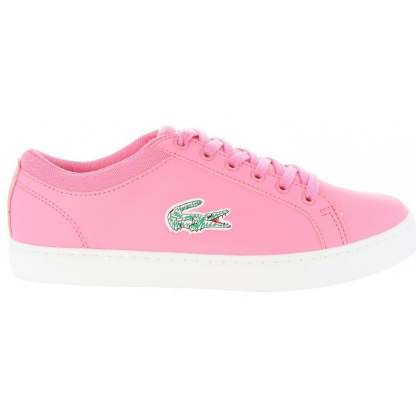 bf9136d9786 Sneaker mujer - rosa LACOSTE 35CAJ0024 STRAIGHTSET F50 PNK-WHT