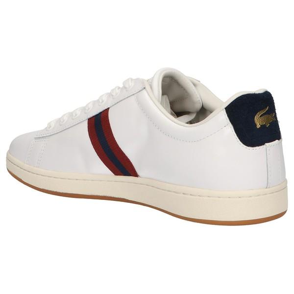 Sneaker piel hombre - blanco