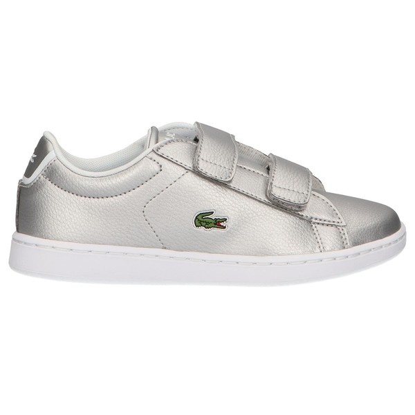 Sneaker infantil - plateado