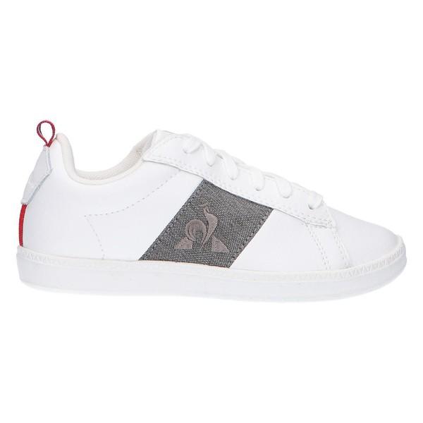 Sneaker piel mujer/infantil - blanco