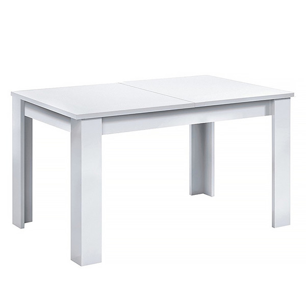 Mesa comedor extensible Kendra - blanco brillo HABIT DESIGN 004586BO