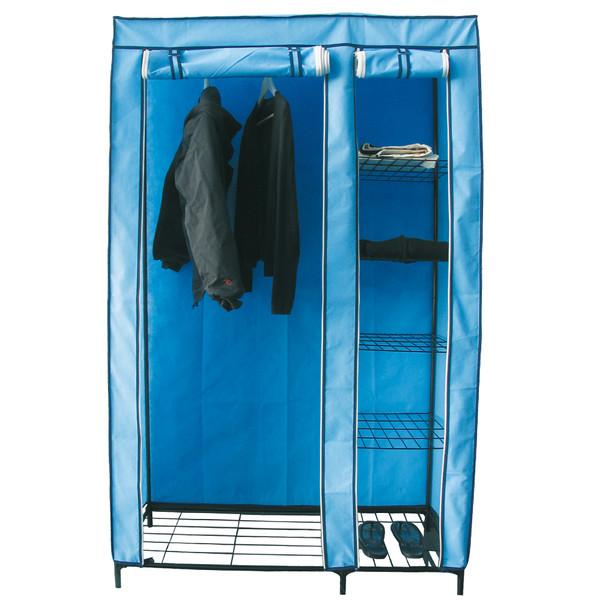 110x46x178cm Armario PVC - azul