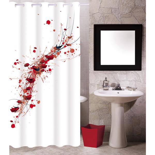 Cortina de baño Abstracta