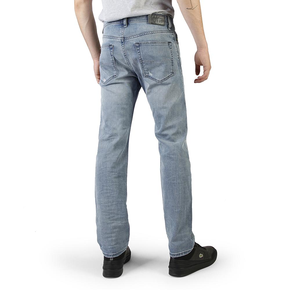 Pantalón tejano hombre - azul claro