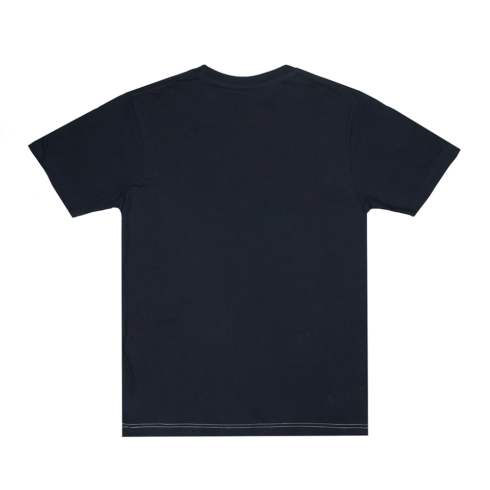 Camiseta hombre - marino/blanco