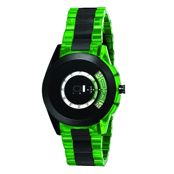 Reloj analógico resina unisex - verde