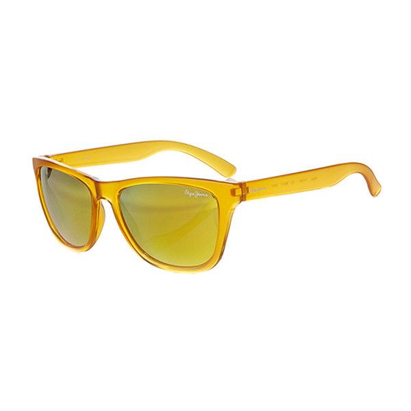 Gafas de sol unisex calibre 55 acetato - amarillo